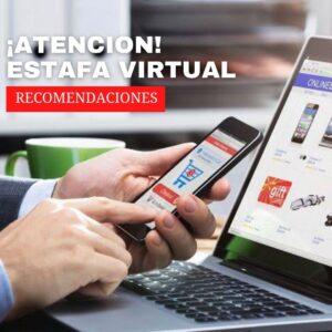 estafa virtual cibercrimen