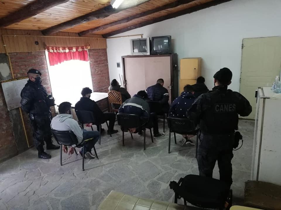 Chubut: 21 allanamientos y 10 detenidos en causa de tráfico y venta de estupefacientes